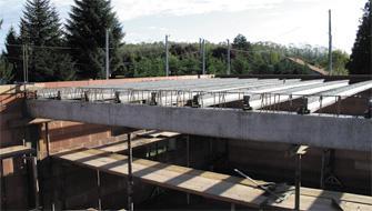 Poutre pap poutre en b ton pr contraint pr t poser kp1 - Escalier beton pret a poser ...
